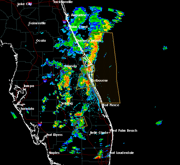 Radar Image for Severe Thunderstorms near Cocoa West, FL at 6/12/2019 3:12 PM EDT