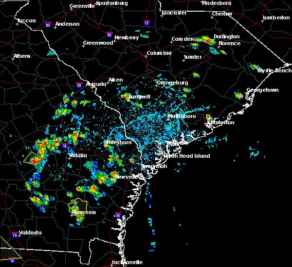 Radar Image for Severe Thunderstorms near Odum, GA at 6/17/2015 4:54 PM EDT