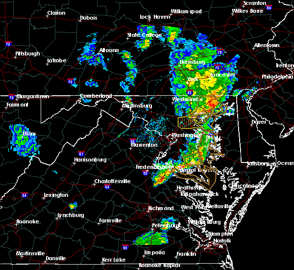 Radar Image for Severe Thunderstorms near St. Leonard, MD at 6/13/2019 6:43 PM EDT