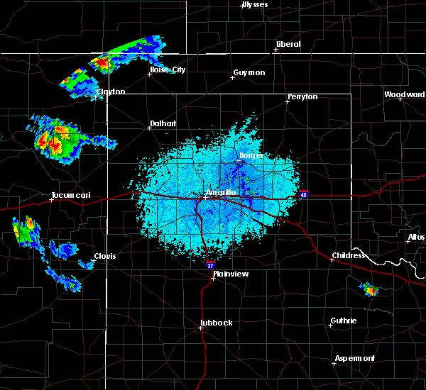 Radar Image for Severe Thunderstorms near Boise City, OK at 6/13/2019 6:49 PM CDT