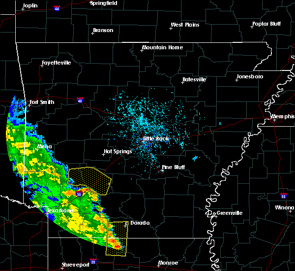 Radar Image for Severe Thunderstorms near Okolona, AR at 6/17/2015 4:04 PM CDT