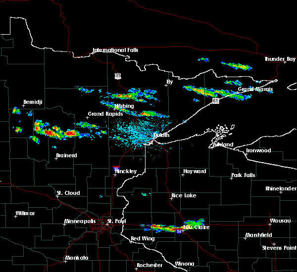 Radar Image for Severe Thunderstorms near Chickamaw Beach, MN at 6/14/2019 5:17 PM CDT