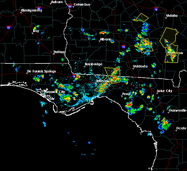 Radar Image for Severe Thunderstorms near Woodville, FL at 6/17/2015 5:19 PM EDT