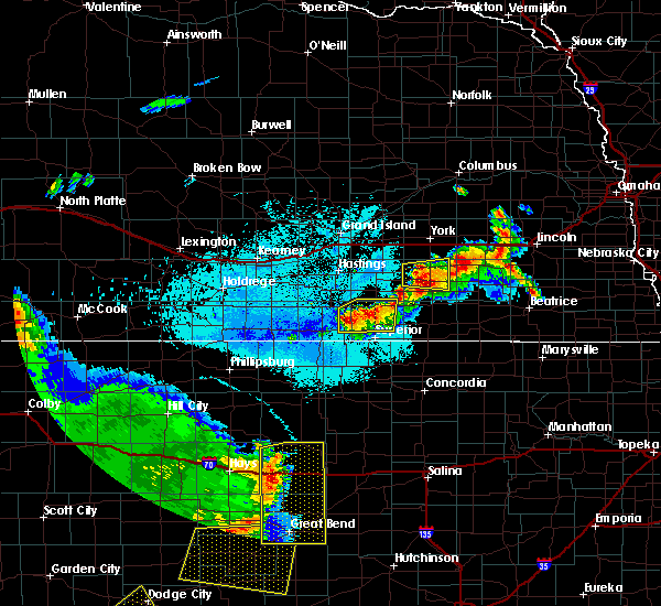 Radar Image for Severe Thunderstorms near Oak, NE at 6/14/2019 10:20 PM CDT