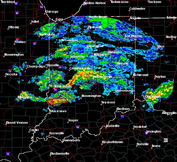 Radar Image for Severe Thunderstorms near Clayton, IN at 6/15/2019 6:04 PM EDT