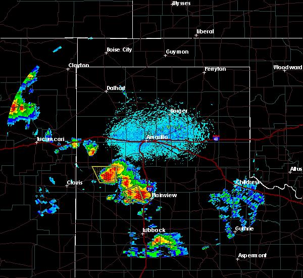 Radar Image for Severe Thunderstorms near Dimmitt, TX at 6/15/2019 5:15 PM CDT