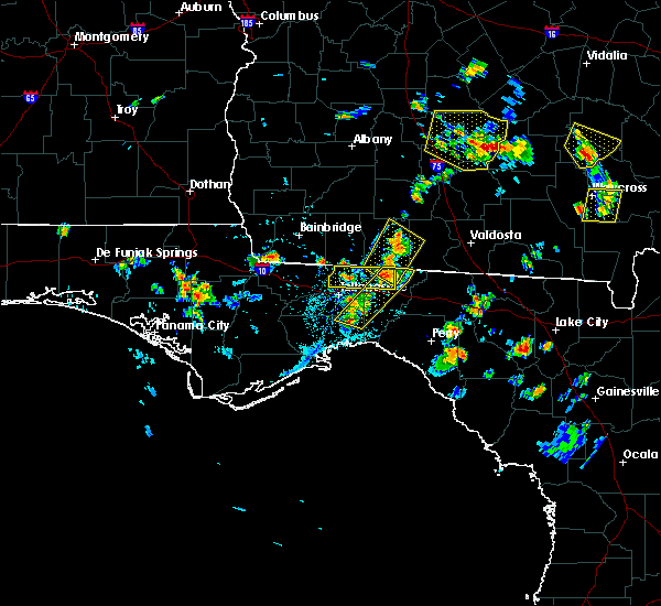 Radar Image for Severe Thunderstorms near Tallahassee, FL at 6/17/2015 5:42 PM EDT