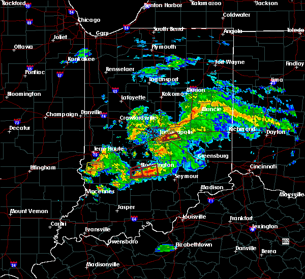 Radar Image for Severe Thunderstorms near Columbus, IN at 6/15/2019 7:42 PM EDT
