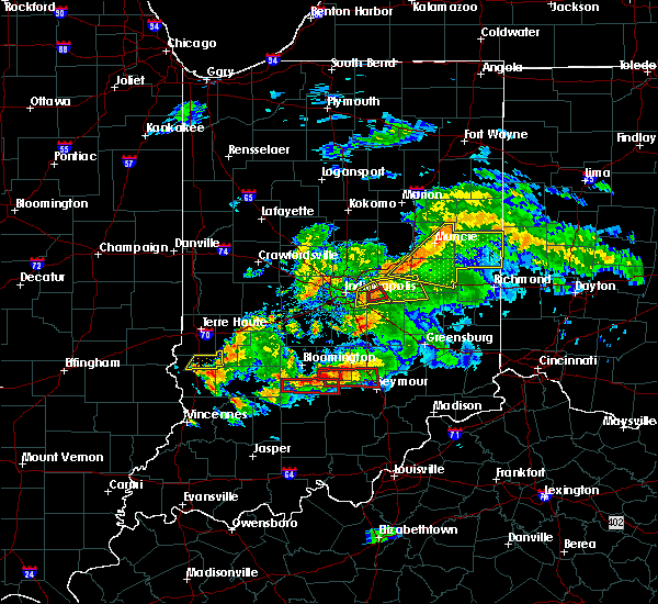 Radar Image for Severe Thunderstorms near Columbus, IN at 6/15/2019 7:57 PM EDT