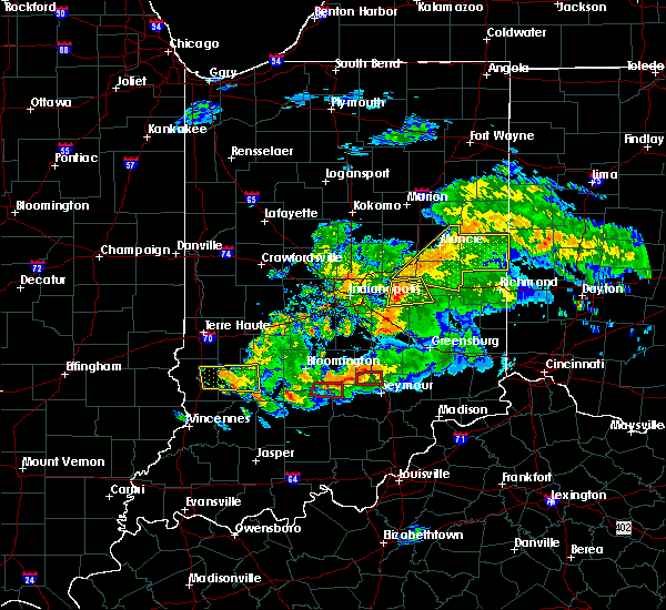 Radar Image for Severe Thunderstorms near New Castle, IN at 6/15/2019 8:13 PM EDT