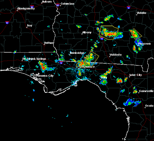 Radar Image for Severe Thunderstorms near Tallahassee, FL at 6/17/2015 5:58 PM EDT
