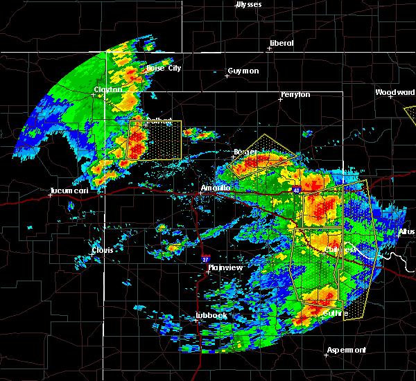 Radar Image for Severe Thunderstorms near Boise City, OK at 6/15/2019 8:22 PM CDT
