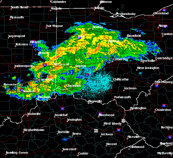 Radar Image for Severe Thunderstorms near Sunbury, OH at 6/15/2019 9:58 PM EDT