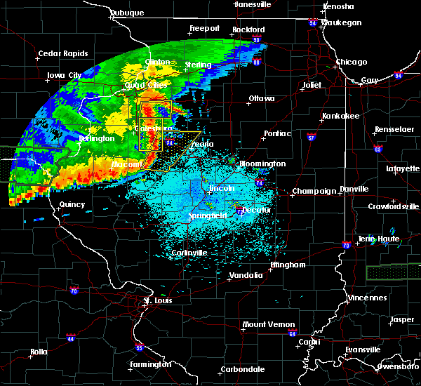 Radar Image for Severe Thunderstorms near Dunfermline, IL at 6/15/2019 9:50 PM CDT