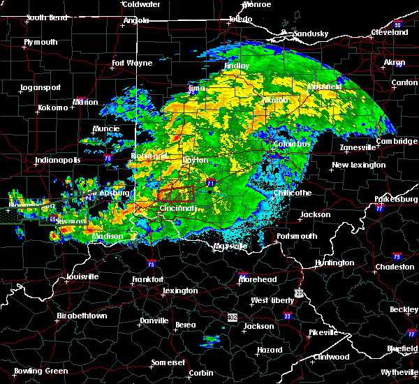 Radar Image for Severe Thunderstorms near Lebanon, OH at 6/15/2019 10:57 PM EDT