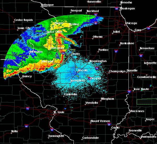 Radar Image for Severe Thunderstorms near Dunfermline, IL at 6/15/2019 10:05 PM CDT