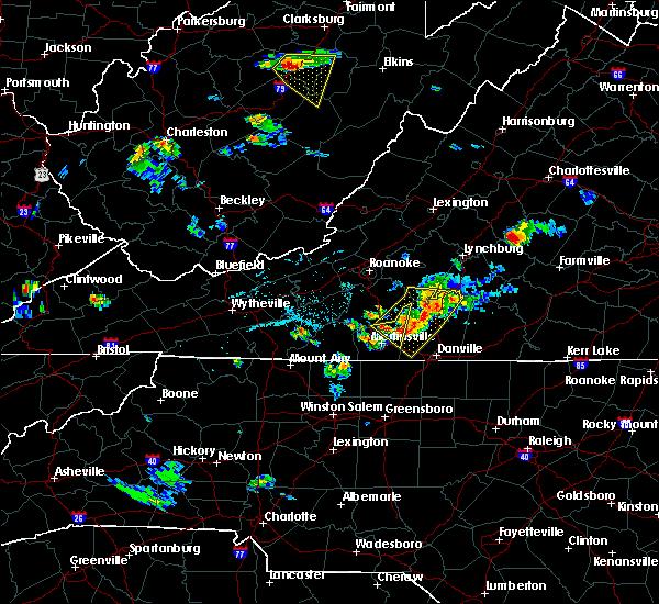 Radar Image for Severe Thunderstorms near Motley, VA at 6/17/2015 6:33 PM EDT
