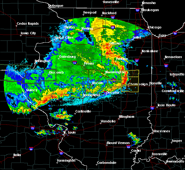 Radar Image for Severe Thunderstorms near Philo, IL at 6/15/2019 11:53 PM CDT