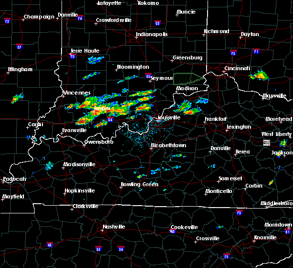 Radar Image for Severe Thunderstorms near Paoli, IN at 6/16/2019 3:02 PM EDT