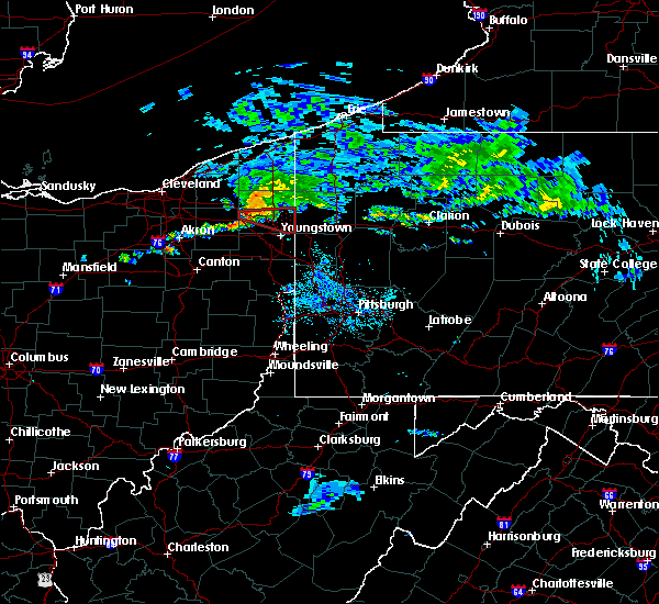 Radar Image for Severe Thunderstorms near Cortland, OH at 6/16/2019 4:22 PM EDT