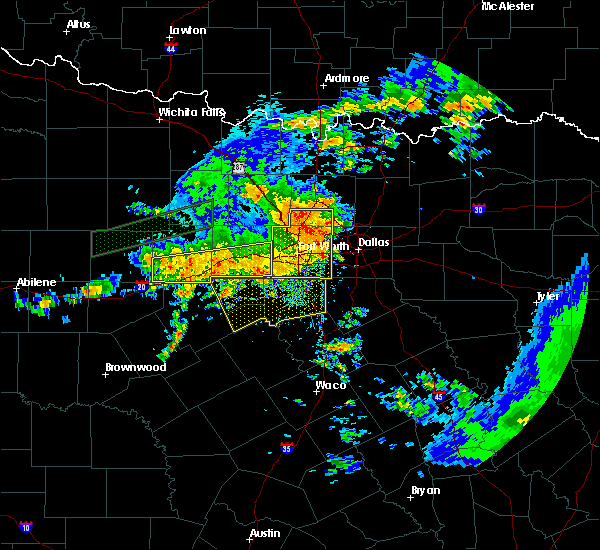 Radar Image for Severe Thunderstorms near Irving, TX at 6/16/2019 3:31 PM CDT