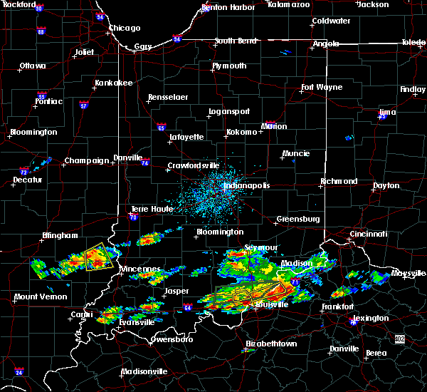 Radar Image for Severe Thunderstorms near Seymour, IN at 6/16/2019 4:36 PM EDT