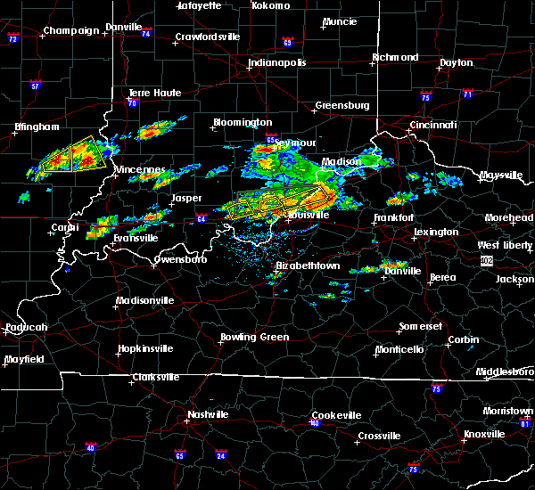 Radar Image for Severe Thunderstorms near Utica, KY at 6/16/2019 4:35 PM EDT