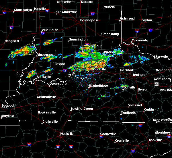 Radar Image for Severe Thunderstorms near River Bluff, KY at 6/16/2019 4:35 PM EDT