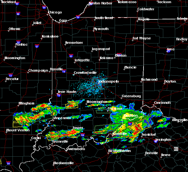 Radar Image for Severe Thunderstorms near Worthington, IN at 6/16/2019 5:11 PM EDT