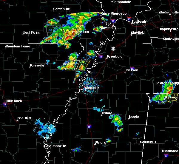 Radar Image for Severe Thunderstorms near Blytheville, AR at 6/16/2019 4:47 PM CDT