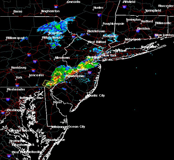 Radar Image for Severe Thunderstorms near Hockessin, DE at 6/16/2019 6:13 PM EDT