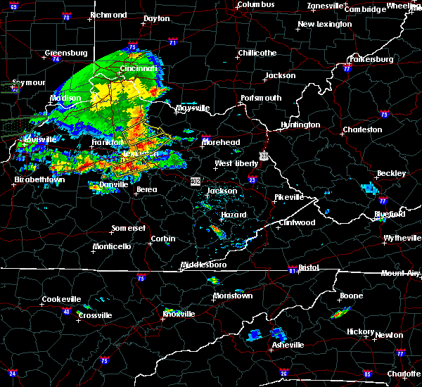 Radar Image for Severe Thunderstorms near Paris, KY at 6/16/2019 6:15 PM EDT