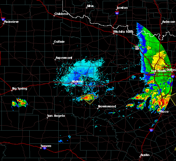 Radar Image for Severe Thunderstorms near Cross Plains, TX at 6/16/2019 5:14 PM CDT