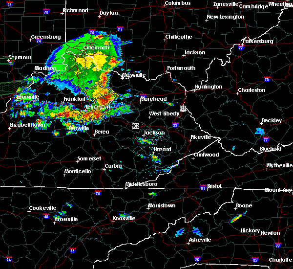 Radar Image for Severe Thunderstorms near Paris, KY at 6/16/2019 6:29 PM EDT