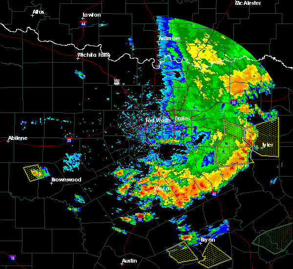 Radar Image for Severe Thunderstorms near Caney City, TX at 6/16/2019 6:04 PM CDT