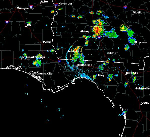 Radar Image for Severe Thunderstorms near Pelham, GA at 6/17/2015 7:26 PM EDT