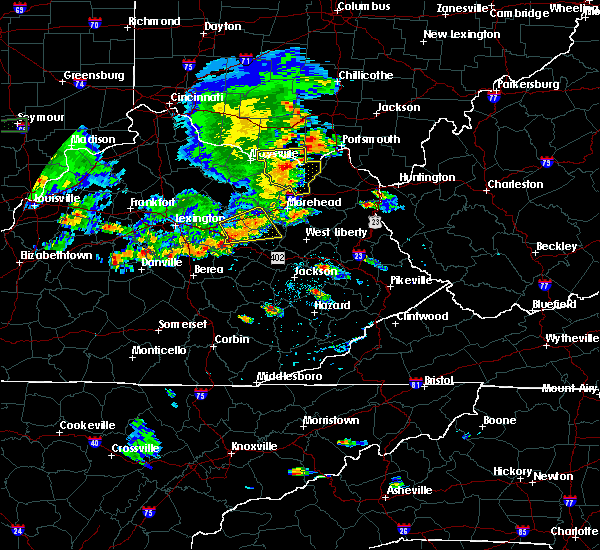 Radar Image for Severe Thunderstorms near Concord, OH at 6/16/2019 7:24 PM EDT