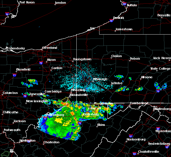 Radar Image for Severe Thunderstorms near Hannibal, OH at 6/16/2019 11:20 PM EDT