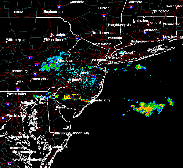 Radar Image for Severe Thunderstorms near Buena, NJ at 6/17/2019 1:12 AM EDT