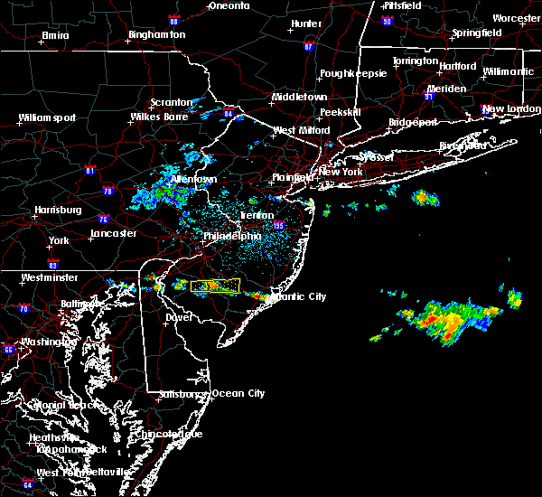 Radar Image for Severe Thunderstorms near Buena, NJ at 6/17/2019 1:24 AM EDT