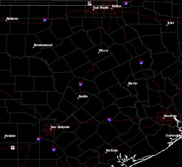 Radar Image for Severe Thunderstorms near Goldthwaite, TX at 6/17/2019 12:36 AM CDT