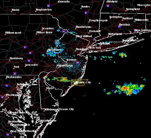 Radar Image for Severe Thunderstorms near Buena, NJ at 6/17/2019 1:39 AM EDT