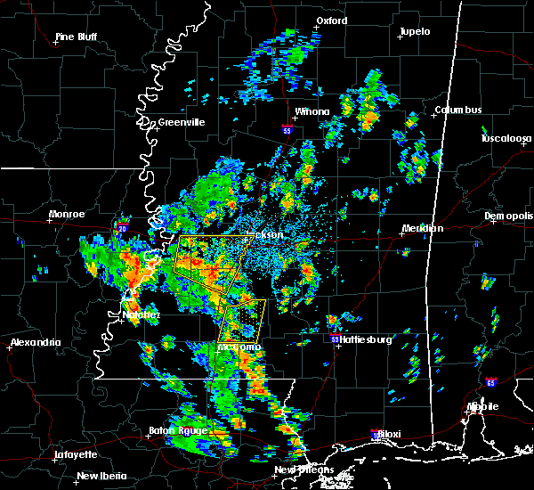Radar Image for Severe Thunderstorms near Monticello, MS at 6/17/2019 1:36 PM CDT