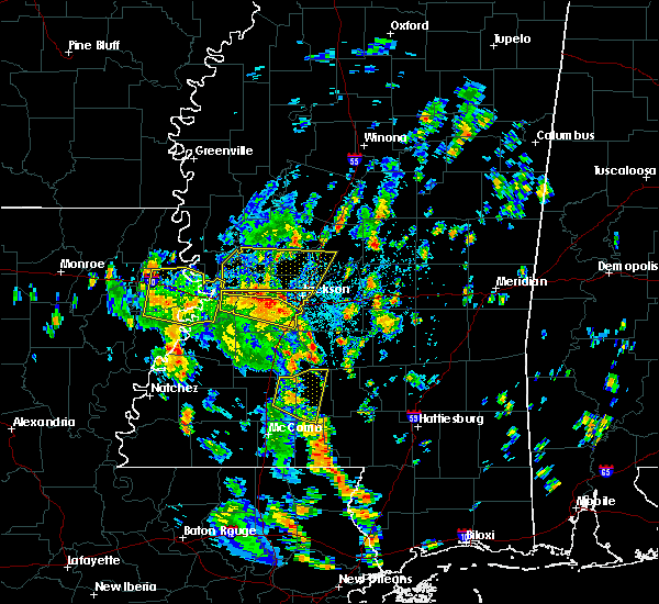 Radar Image for Severe Thunderstorms near Beechwood, MS at 6/17/2019 2:01 PM CDT