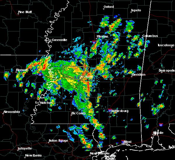 Radar Image for Severe Thunderstorms near Flowood, MS at 6/17/2019 2:43 PM CDT