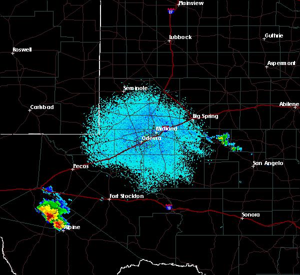 Radar Image for Severe Thunderstorms near Fort Davis, TX at 6/17/2019 3:00 PM CDT