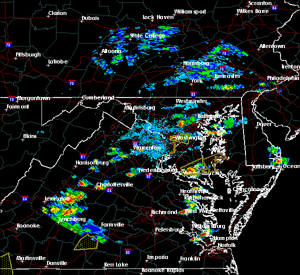 Radar Image for Severe Thunderstorms near St. Leonard, MD at 6/17/2019 4:28 PM EDT