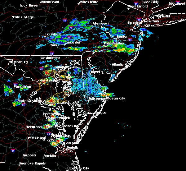 Radar Image for Severe Thunderstorms near Leonardtown, MD at 6/17/2019 4:41 PM EDT