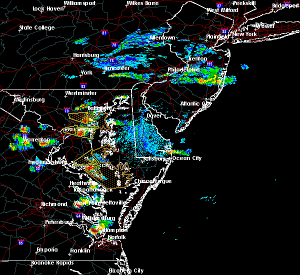 Radar Image for Severe Thunderstorms near Chesapeake Ranch Estates, MD at 6/17/2019 5:00 PM EDT