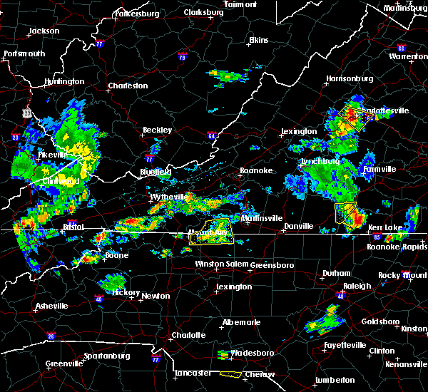 Radar Image for Severe Thunderstorms near Flat Rock, NC at 6/17/2019 5:08 PM EDT